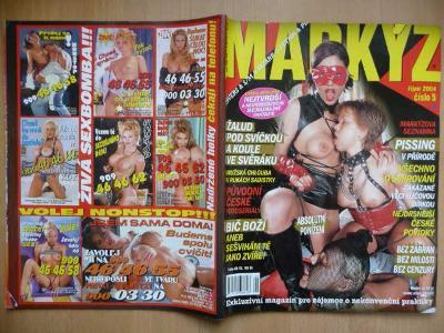 Erotický časopis - MARKÝZ - číslo 5 z roku 2004