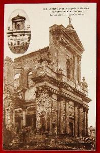 Stará pohlednice Arras válka - okolo roku 1900 - Francie