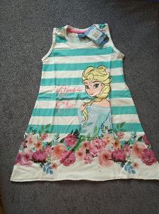 Nové šaty Frozen, vel.104 a 134