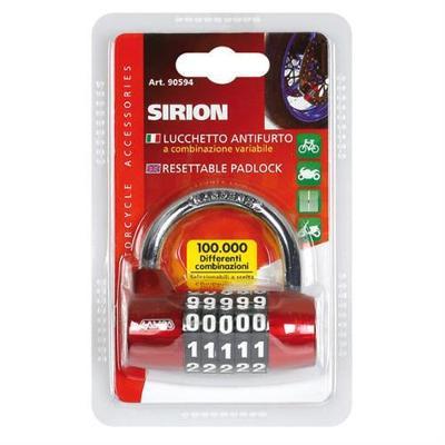 Zámek na kotouč Sirion kodový