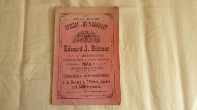 Katalog Rakousko-Uherských uniforem z roku 1880-JEDINEČNÝ KOUSEK!!