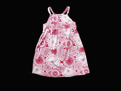 Plátěné květované šaty Savannah  6-7let