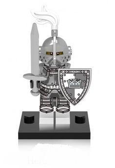 figurka rytíř doplněk pro lego