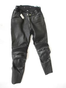 Kožené kalhoty dámské ROAD- vel. 38, pas: 72 cm