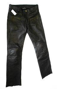 Kožené kalhoty HIGHWAY- vel. 46, pas: 82 cm