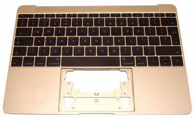 """Topcase + klávesnice CZ verze pro Apple MacBook 12"""" A1534 GOLD ROSE"""