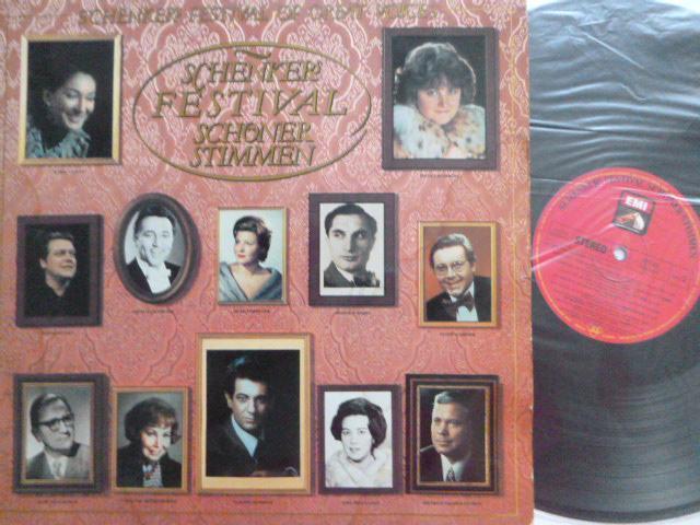 SCHENKER FESTIVAL OF GREAT VOICES - PLACIDO DOMINGO MARIA CALLAS - Hudba