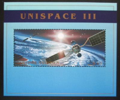 OSN Vídeň 1999 Průzkum vesmíru Mi# Block 10 1938