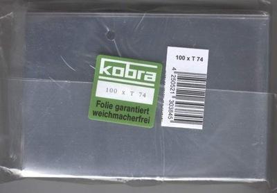 100 x obal KOBRA  T74 na MF pohlednic - kvalita