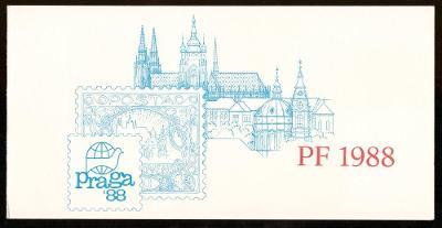 1987 (ČSSR) - Novoročenka PF1988 (5892)