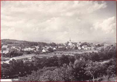 Oleksovice * celkový pohled na město * Znojmo * V649