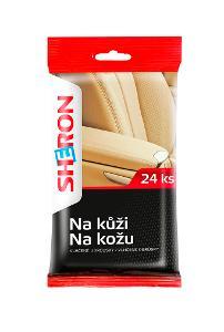 SHERON Ubrousky na Kůži  24ks  Výprodej!!!