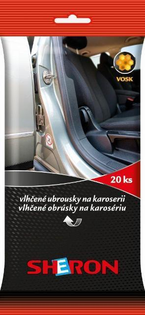 SHERON Ubrousky na Karoserie  24ks  Výprodej!!!