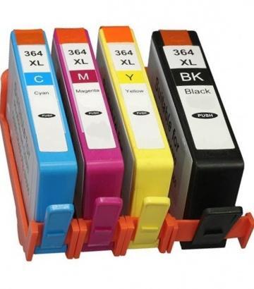 HP 364XL SD534E kompatibilní sada nápní CMY BK - cartridge 4ks barev