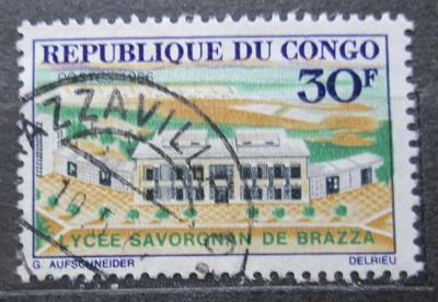 Kongo 1966 Gymnázium Savorgnan de Brazza Mi# 108 1934