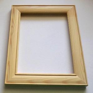 NOVÝ RÁM - vnitřní rozměr 18 x 24 cm  - č.421