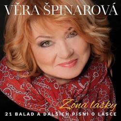 Věra Špinarová - Zóna lásky-21 balad a dalších písní o lásce, 1CD,2016