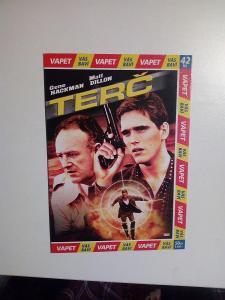 DVD, film Terč