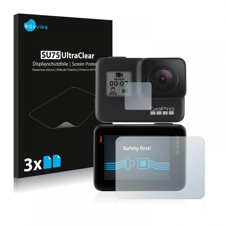 6x Ochranné fólie - GoPro Hero7 Black (přední + zadní displej) - TV, audio, video