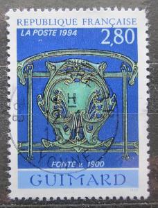 Francie 1994 Dekorativní umění Mi# 3001 1944