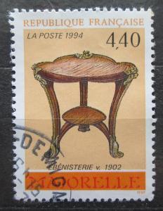 Francie 1994 Dekorativní umění Mi# 3002 1944