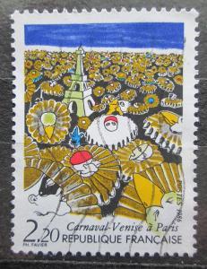 Francie 1986 Benátský karneval v Paříži Mi# 2531 1944