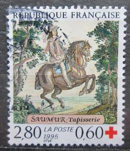 Francie 1995 Gobelín Mi# 3091 1944