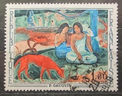 Francie 1968 Umění, Gauguin Mi# 1635 1945
