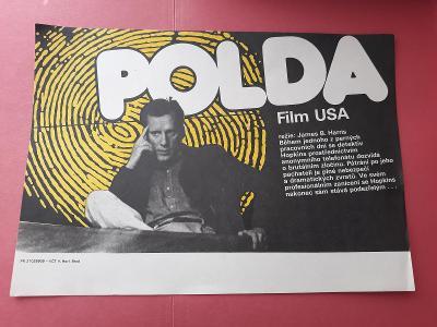 Polda - filmový plakát 29 x 20,7 cm