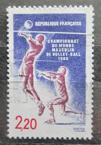 Francie 1986 MS ve volejbale Mi# 2550 1945