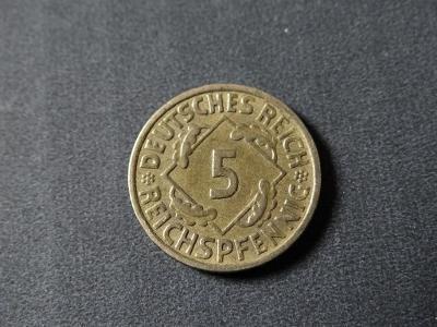 5 Reichspfennig 1936 A