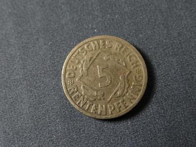 5 Rentenpfennig 1924 G