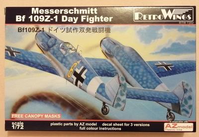 AZ/RW  Messerschmitt Bf 109Z-1 denní verze 1/72