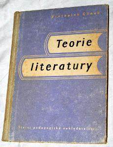 TEORIE LITERATURY pro jedenáctileté a odborné školy Cenek 1958