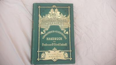 Starožitná kniha R-U 1876-Monarchie-Geographisch-Statistisches KRÁSNÁ