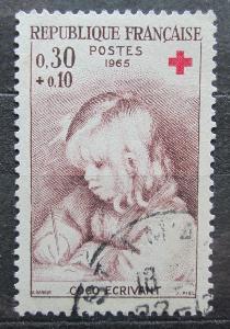 Francie 1965 Umění, Pierre-Auguste Renoir Mi# 1533 1946