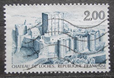 Francie 1986 Zámek Loches Mi# 2552 1946