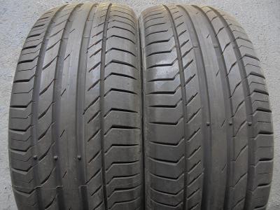 pneu 235 55r19 letní Continental Sportcontact 5 105W 2kusy ZÁNOVNÍ