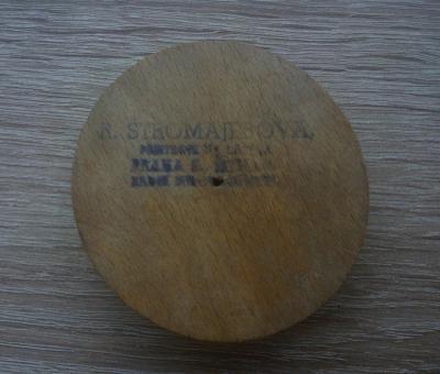 Dřevěné kolečko do přístoje na látání R. Štromajerová