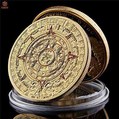 Pamětní mince - Aztécký kalendář