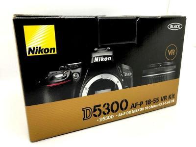 NOVÝ Nikon D5300 + objektiv Nikkor 18-55mm AF-P