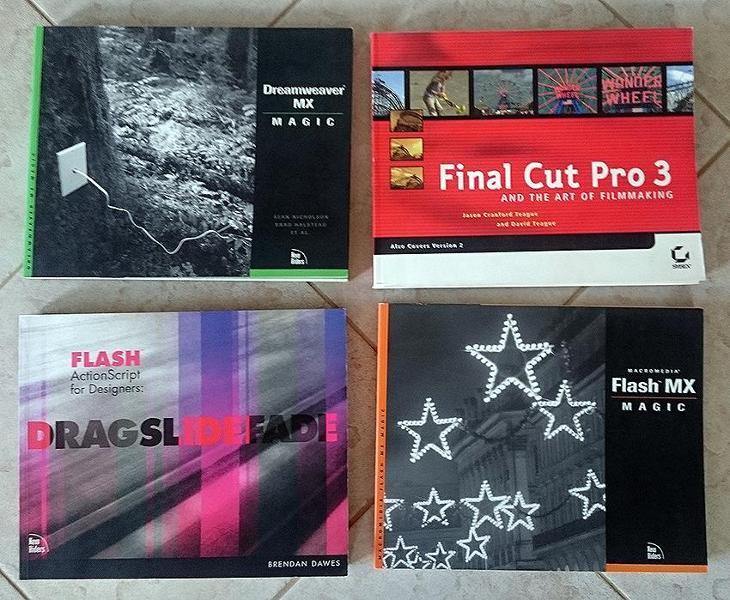 Knihy pro grafiky Adobe - Knihy