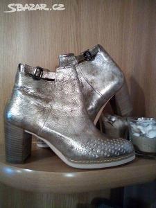 Prodám NOVÉ kožené boty Gabor vel.6