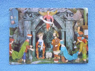 Veselé vánoce betlém figurka Nový Jičín Rybí