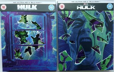HULK + NEUVĚŘITELNÝ HULK - 2x STEELBOOK 4K ULTRA HD + BLU-RAY