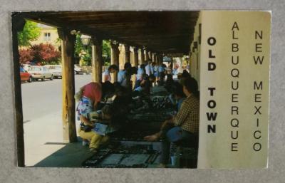 NEW MEXICO , Old Town Plaza , prošlá