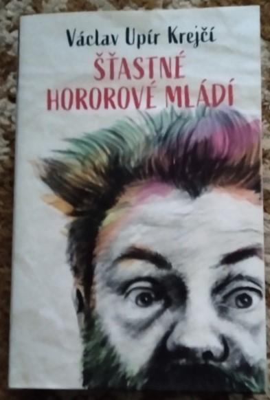 Václav Upír Krejčí, Šťastné hororové mládí, běžná cena: 399 Kč