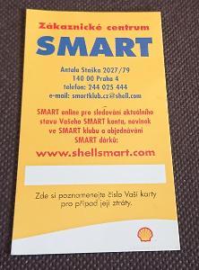 Kartička Shell Smart