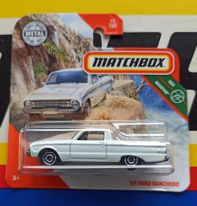 Ford Ranchero 1961 MB 75/100 Matchbox