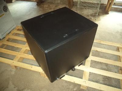 Velký transportní plastový box - bezpečnostní - uzamykatelný